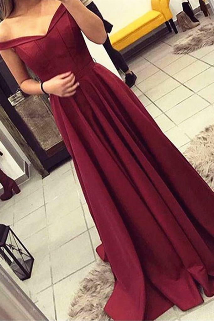 16b4243b662b Wine Off Shoulder Dress - Bid2Buy