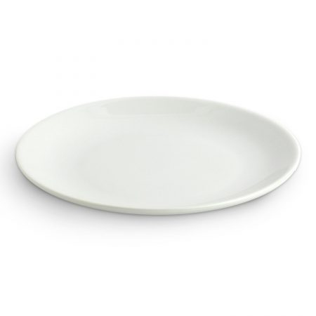 Urban Snackers Oval Plate 21 cm, White Porcelain, for Serving Breakfast, Dining and Snacks, Gifting Accessories