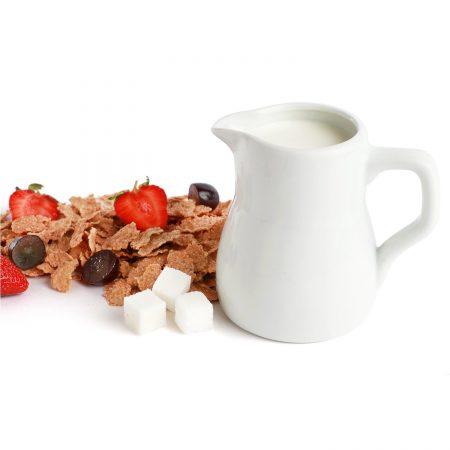 Urban Snackers Jug 14 cl, White Porcelain Jug, for Serving Water, Coffee, Tea, Beverage |Gifting Accessories|in Hotels, Kitchen, Home, Restaurant