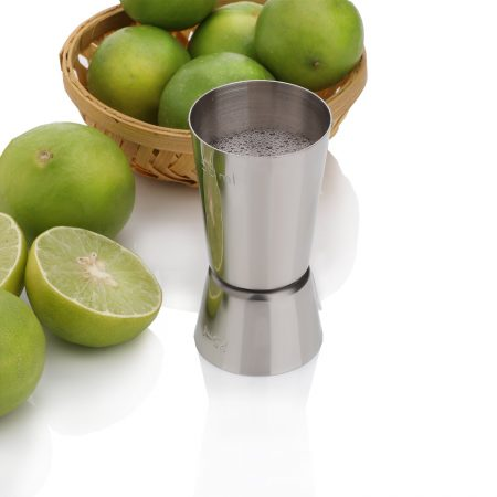 Urban Snackers Jigger/Peg Measure & Cocktail Shaker Drink Measuring Bar Tool 25/50 Ml (Stainless Steel)