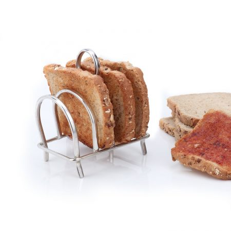 Urban Snackers Bread/Toast Rack 4 Slit (Stainless Steel)