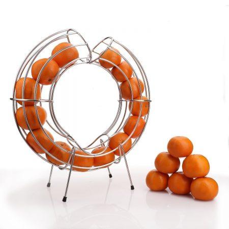 Urban Snackers Round Orange Stand/Dispenser 45 cm (Stainless Steel)