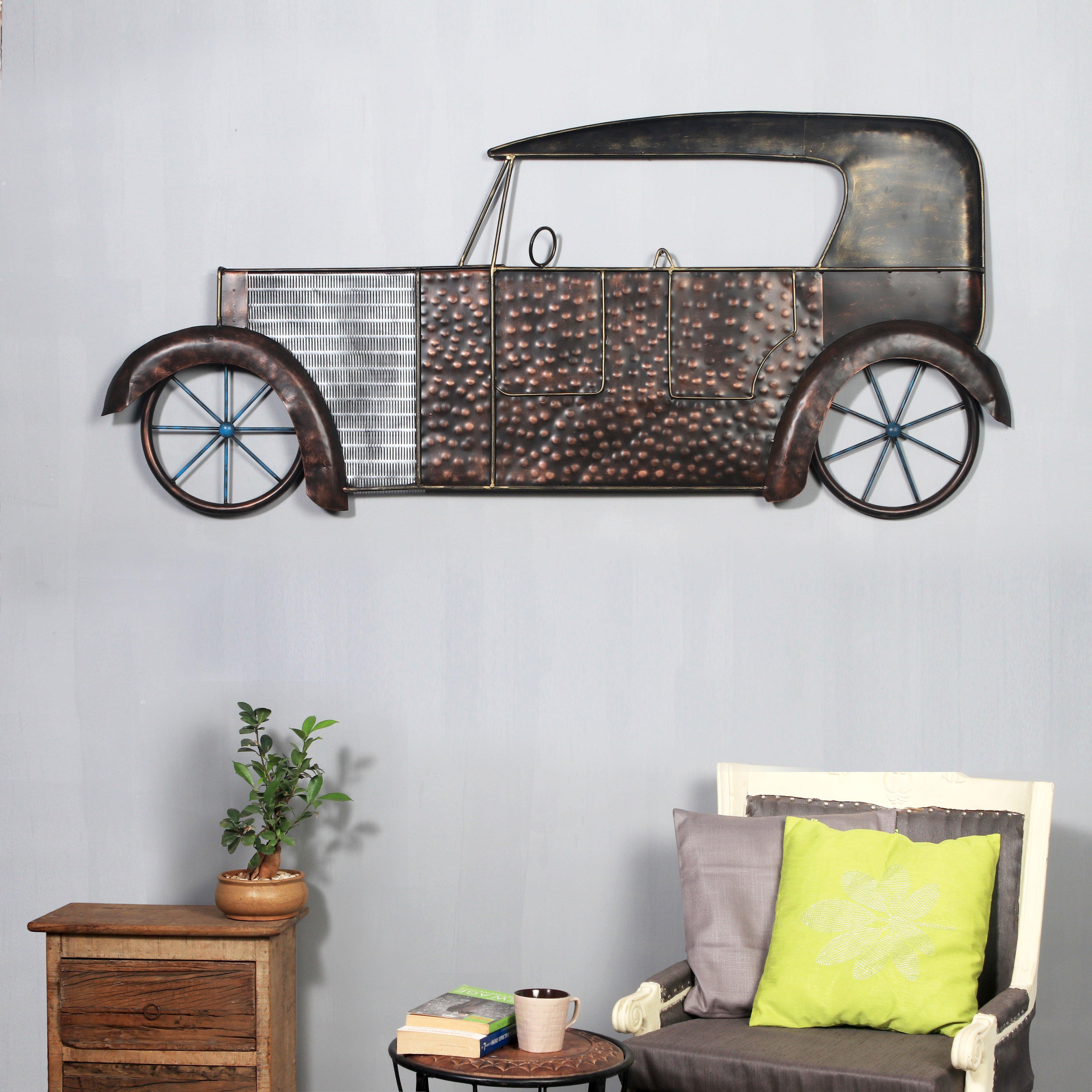 The India Craft The Classic Autonova Artwork, Metal Iron